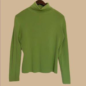 Vintage Green Turtleneck
